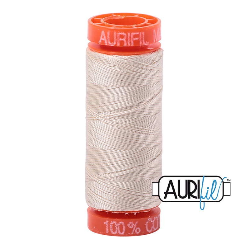 Aurifil Mako50 #2310 Light Beige - 200 meter