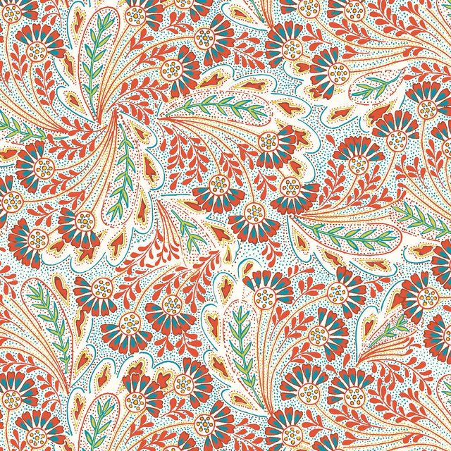 Liberty Londen Feather Dance  by Summer House 5673Y