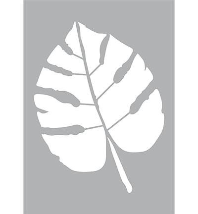 Sjabloon blad - monstera A3