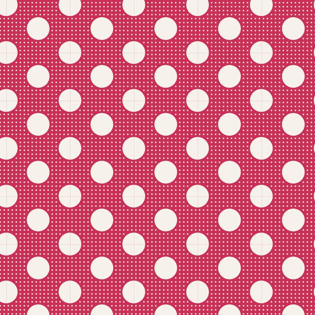 Medium Dots red 130027