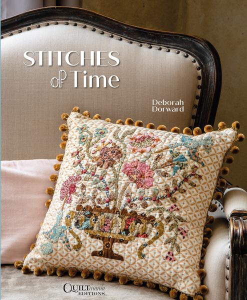 Boek Stitches of Time van Deborah Dorward