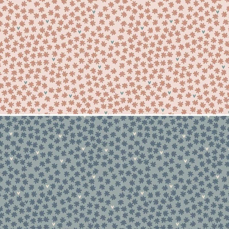 Heartstrings by Natalie Bird roze / blauw DV3279