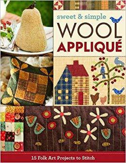 Boek met wolapplicaties Sweet & Simple Wool Applique
