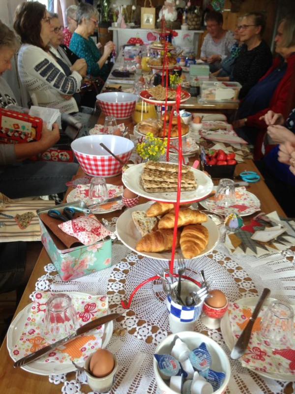 Blog...ontbijten met de woensdag beegroep..