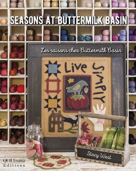 Quiltmania boek Seasons at Buttermilk Basin
