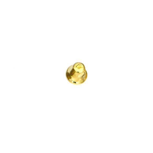 kerstklokje goudkleur 12 x 10 mm