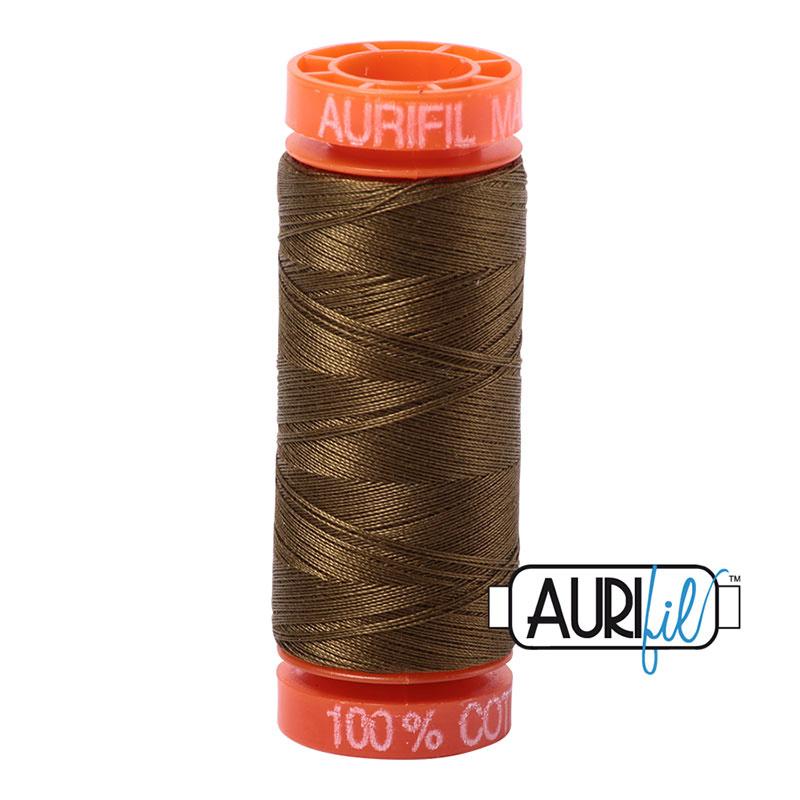Aurifil Mako50 #4173 Donker Olive - 200 meter