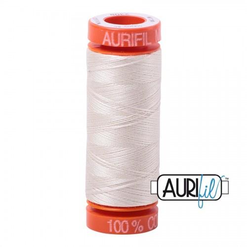 Aurifil Mako 50  #2309 Silver - 200 meter