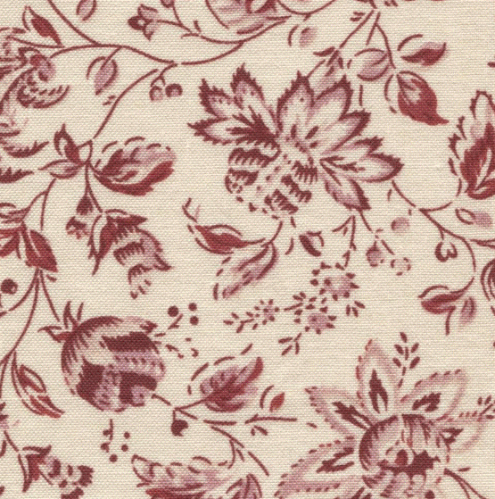 Dutch Heritage DHER 1018 CHINA RED - creme - rood