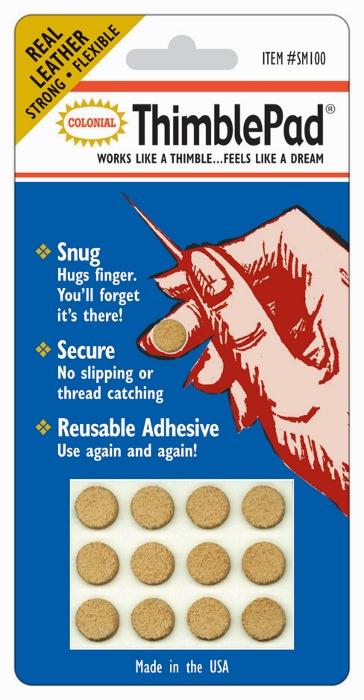 Leren vingerbeschermers ThimblePad