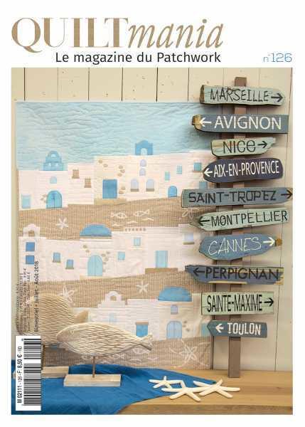Quiltmania 126 magazine