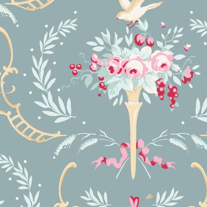 Tilda Old Rose Birdsong 100208