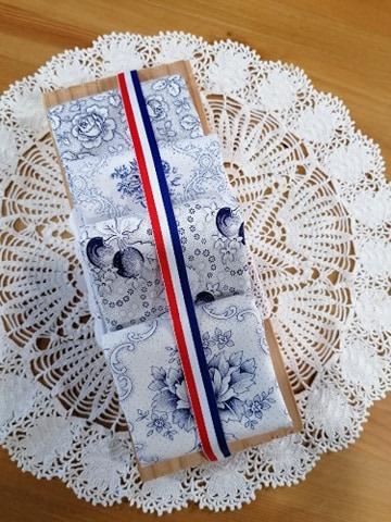 pakket 4 Westfalen wit - blauw