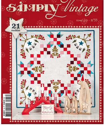Quiltmania Simply Vintage 33