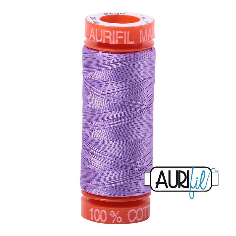 Aurifil Mako50 #2520 Violet - 200 meter