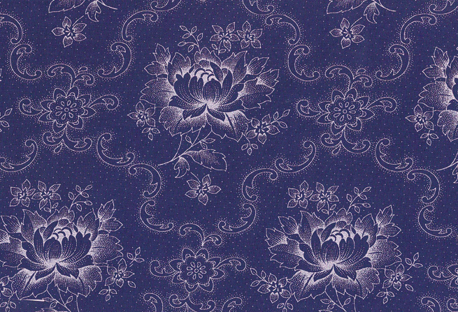 Westfalen Klassiker pioenroos blauw - wit 010508010