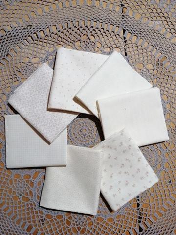 Stofpakket ivoor wit