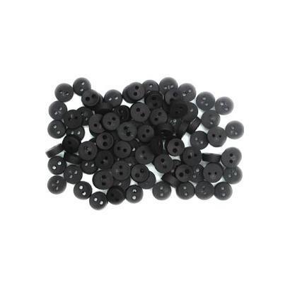 Kleine zwarte knoopjes