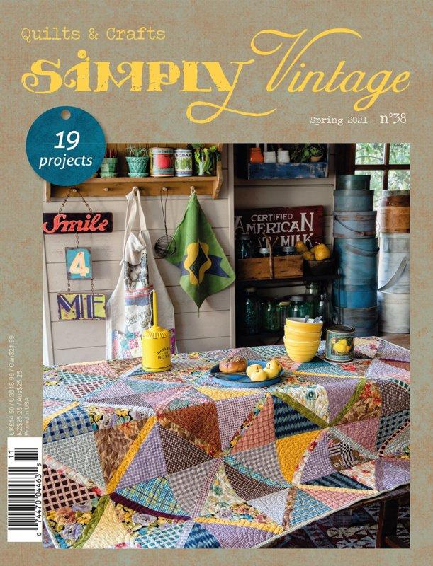 Blog...NIEUW BINNEN...Simply Vintage 38- 7 april 2021