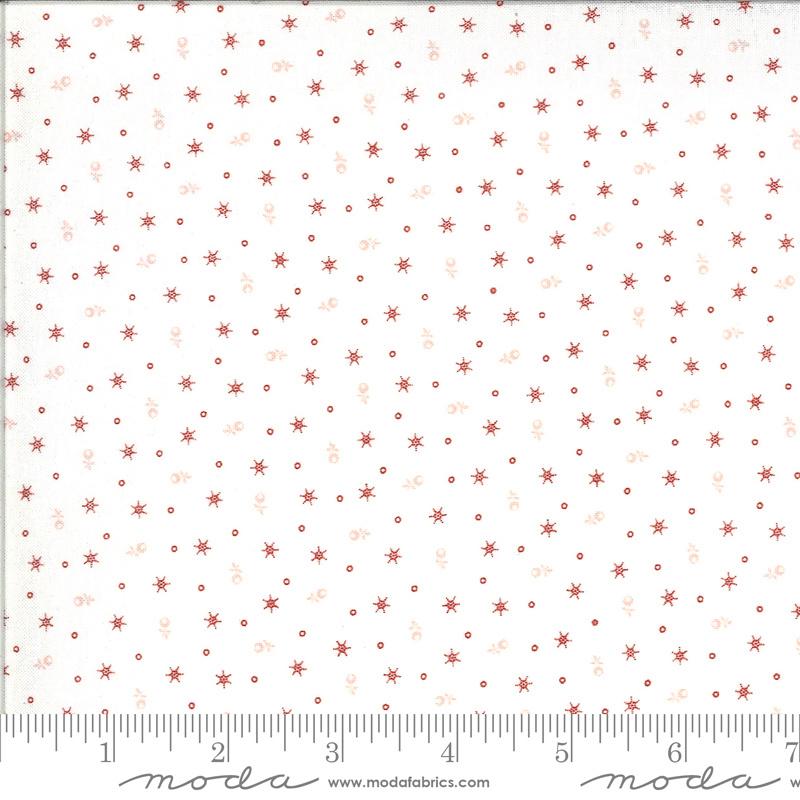 Roselyn by Minick & Simpson 14916 21 zachtwit - rood