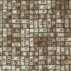 FREE SPIRIT Eclectic Elements by Tim Holtz PWTH010 Taupe