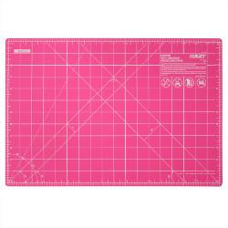"Olfa snijmat pink 12 x 18"" - 45 x 30 cm."