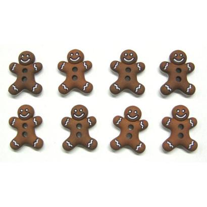Knopen Gingerbread cookies