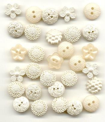 Knopen wit divers