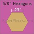 "hexagon mallen 5/8 ""inch"