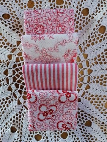 pakket 9 Westfalen wit rood