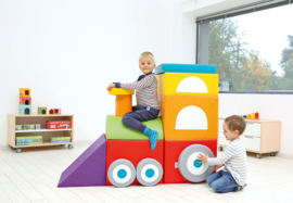"Foam Blokken Set ""Locomotief"""