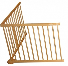 Veiligheidshek/kinderhekje 183 cm zonder deur (79 cm)
