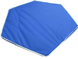 Binnen/buitenspeelkleed (voor playpens 5,49  m / 6 x 90 cm) rood/groen/antraciet/blauw