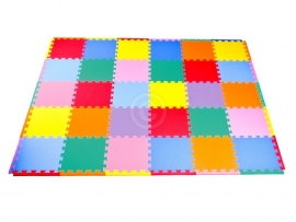 "Sportmat 2,86 m² ""Mix"" / 30 tegels (30 x 30 x 1,2 cm)"