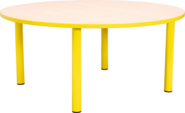SALE! Kinderopvangtafel / groepstafel rond geel 58 cm
