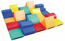 Foam blokken set van 25 speelelementen