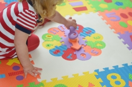 Puzzel klok afwerkrand (60 x 60 x 1,2 cm)