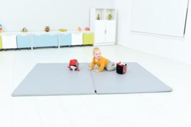 Sportmat/Gymmat/Speelmat Grijs (200 x 150 x 3 cm)