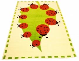 Speeltapijt/kindertapijt Lieveheersbeestjes (2 x 3 meter)