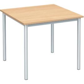SALE! Kinderopvang tafel (vierkant) zilver (maat 2: 52 cm)
