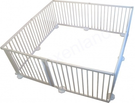 Grondbox / Playpen 7,32 meter WIT (79 cm)
