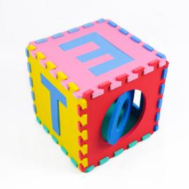 Speelmat alfabet/figuren 2,86 m² / 30 tegels (30 x 30 x 1,2 cm)