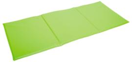 Sportmat/Gymmat/Speelmat opvouwbaar Groen of Oranje (155 x 62 x 2 cm)