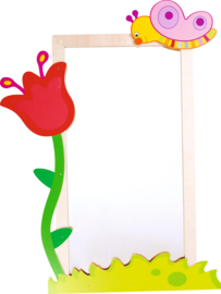 Spiegel kinderopvang (72 x 132 cm) keuze uit 6 soorten decoratie