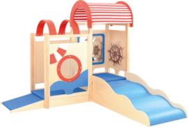 Speelhoek/speelhuis kinderopvang / kinderdagverblijf Schip