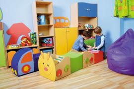 Rups boeken opbergbox kinderopvang