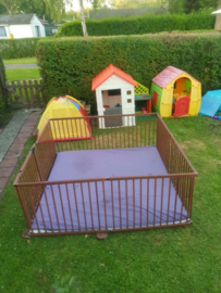 All weather buitenbox / playpen 7,32 meter (72 cm) leverbaar 17 april