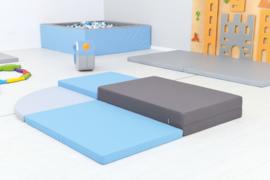 Foam Blokken set van 4 matrassen (groot)