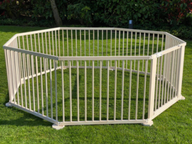 All weather buitenbox / playpen 5,49 meter (72 cm) leverbaar 21 mei