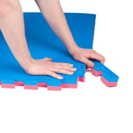 Sportmat/Gymmat 4 m² (2 cm dik) en dubbelzijdig